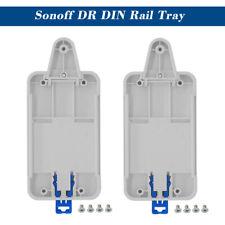 2X Sonoff DR Hutschienen-Tray Adjustable Mounted Schienen Kasten Halter Lösung