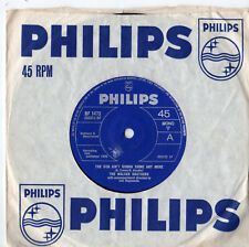 "Walker Brothers - The Sun Ain't Gonna Shine Any More 7"" Single 1966"