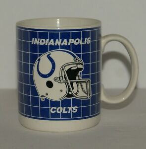Vintage Indianapolis Colts Collectible Coffee Mug Old Logo Papel
