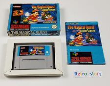 Super Nintendo SNES - The Magical Quest Starring Mickey Mouse - PAL - NOE