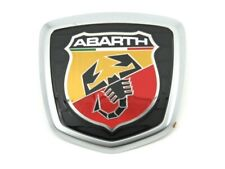 Genuine New FIAT ABARTH LIGHTENING BOOT BADGE Rear Emblem For 500 2016+