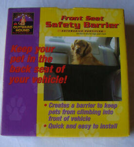 Outward Hound Front Seat Nylon Safety Barrier For Dogs Brand New