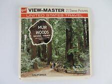 Vintage GAF Viewmaster Reels A164 Muir Woods National Monument California #1159