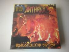 Anthrax - Broadcast Collection 1987-1993 4 CD BOX SET NEW AND SEALED 2017