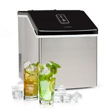 Fabbricatore Ghiaccio Produttore Macchina Cubetti Bar Drink Inox 13kg/Giorno