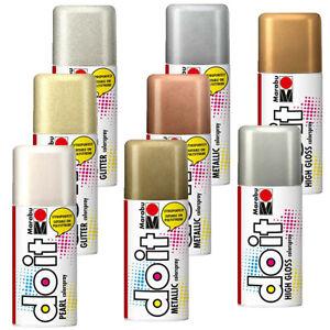 Sprühfarbe do it 150ml Metallic Glitzer Hochglanz Perlmutt Farb Lack Spray Dose