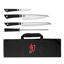Shun Sora 5pc Student / Chef's Knife Roll Set