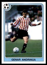 Panini Futbol 92-93 (España) Genar Andrinua no. 80
