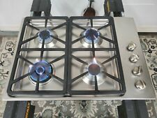 Miele Stainless Steel 30 in. Gas Cooktop (Km3464) Km3464G