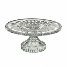 New Waterford Crystal Lismore 11cm Footed Cake Plate