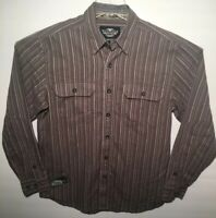 Men's Med Harley-Davidson Custom Paint Milwaukee WI Long Sleeve Button Up Shirt