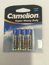 Camelion Super Heavy Duty 1.5V AAA Batteries