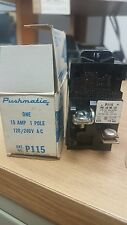 New Ite P115 Pushmatic Circuit Breaker 1P 15 Amp 120/240 Vac