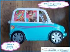 Barbie Zoom N novio van Kennel Cuidado Auto Azul Pop con animales-Rápido Post