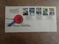1990 The ANZAC Tradition FDC - Special Veterans Flight to Turkey Cachet (8)