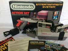 NES Action Set CIB - New 72 Pin Connector - RARE Collector's Items!
