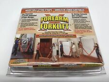 Forearm Forklift Lifting and Moving Straps - Orange