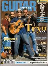 "GUITAR PART #128 ""Tryo,Cake,M,Marilyn Manson,Mary Kaye,John 5"" (REVUE+CD)"