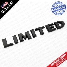 Universal OEM ABS Matte Black Limited Liftgate Logo Emblem For Mopar Truck SUV