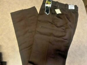 Women's ~FLYING CROSS Brown SFMTRSW01 Trouser Pants~ Size 6Reg - Brand NEW