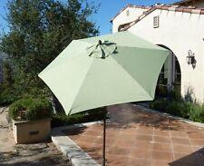 7.5ft Aluminum Patio Garden Outdoor Yard Beach  Market Umbrella. Sage