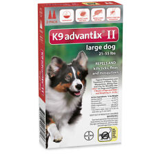 Advantix Advx-Red-55-2 Flea And Tick Control For Dogs 20-55 Lbs 2 Month Supply