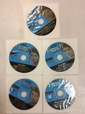 Instant Immersion French 5 Cd-Rom Set Preowned Software