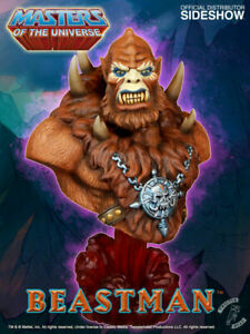 Beastman Bust Tweeterhead Sideshow Masters of the Universe He-Man MOTU MOTUC NEW