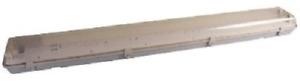 EWF218T 2X18W Non Corrosive Weatherproof Emergency Fluorescent Fitting