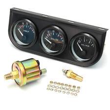 52mm Auto Öldruck Voltmeter Thermograph Temperatur Messgerät Zusatz Instrument