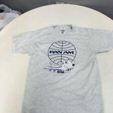 Rare PanAm airlines Boys t-shirt size 14-16