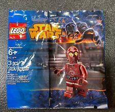 LEGO Star Wars TC-4 Red C3P-O Polybag Minifig Minifigure RARE! 2014