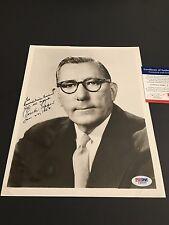 Claude Pepper Hand Signed 8x10 Photo PSA COA Democratic Politician Autograph