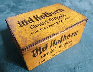 Vintage SHOP COUNTER TOBACCO TIN OLD HOLBORN