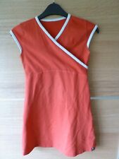 Girls red summer dress size 116/122