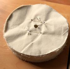 disque de polissage tissus coton 200x40 mm touret alésage 13,5 mm
