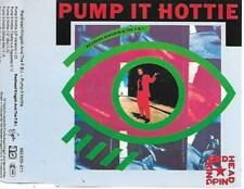 REDHEAD KINGPIN & THE FBI - Pump it hottie CDM 5TR Hip Hop 1989 Germany RARE!