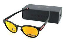 NEW Genuine OAKLEY LATCH Matte Black Prizm Ruby Sunglasses OO 9265 29 2953