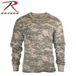 Rothco 6385 -  Army Digital Camo Long Sleeve T-shirt - MD-2XL