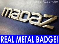 MADAZ !!!! Mazda Genuine Metal Badge for Familia GTR GTX 323 SP BPT BP-4W Turbo