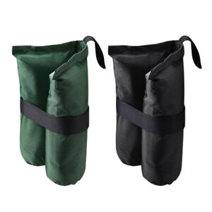 4 Pcs Weight Sand Bag w/ Grommet for Outdoor Pop Up Canopy Tent Gazebo