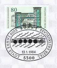BRD 1984: Trier 2000 Jahre! Nr. 1197 mit Bonner Ersttagssonderstempel! 1A 156