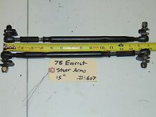 Vintage Skidoo Everest 444 Snowmobile Steering Arms Tierods