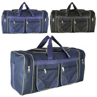 "28"" Waterproof Travel Shoulder Bag Duffel Gym Handbag Mens Womens Overnight 80L"