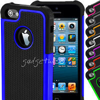 Workman Heavy Duty Soft Hard Hybrid Protective Case Cover For Apple iPhone 5C SE