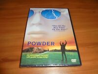 Powder (DVD, Widescreen 1999) Sean Patrick Flanery, Jeff Goldblum NEW