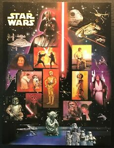2007 Scott #4143 - 41¢ - STAR WARS - Full Sheet of 15 Stamps - Mint NH