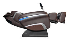 Brown Osaki OS-7200H Executive Zero Gravity Massage Chair Recliner with Heat