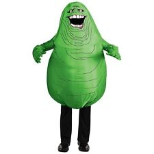 Slimer Costume Adult Inflatable Ghostbusters Halloween Fancy Dress
