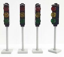 Lego® Ampeln - Set (4 Stück) Ampel für Ihre Lego ® City Welt Straßenplatten